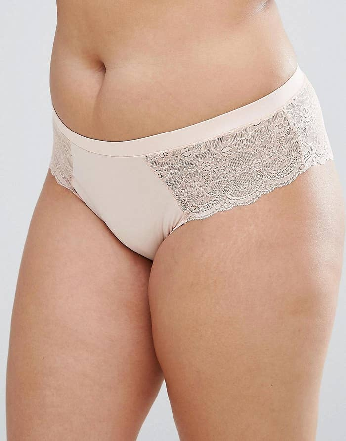 104876adf122 Microfiber lace briefs available in a pack of three neutral colors AKA you' ll want to wear 'em all 👏 the 👏 damn 👏 time 👏.