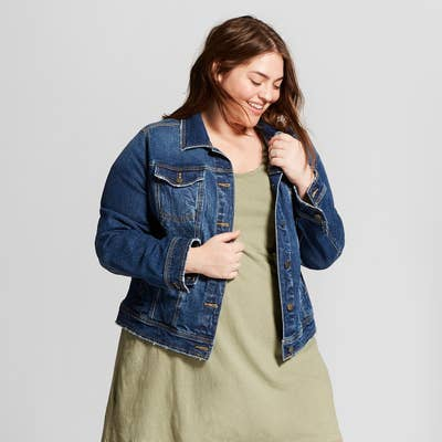 b5ec5e1268b A classic denim jacket — it will automatically add 10 points to any spring  outfit.