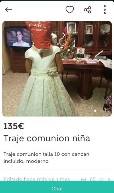 Vestidos comunion wallapop