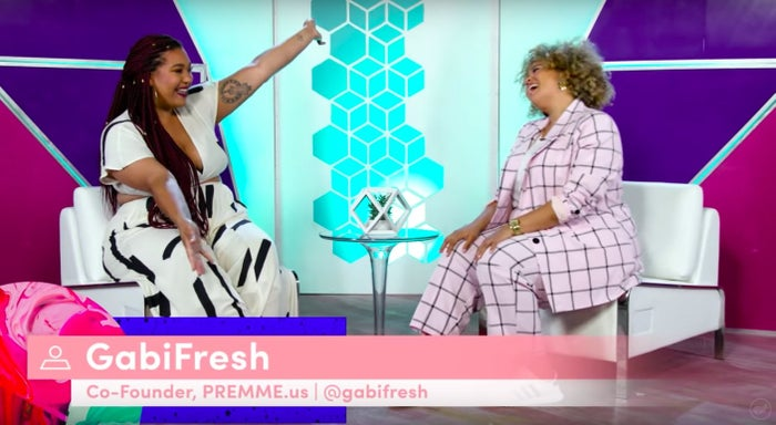 She not only has over 600,000 followers on Instagram, but she has her own swimwear line and co-founded a plus-sized line called PREMME (which she and Jazzmyne both wore for this episode).