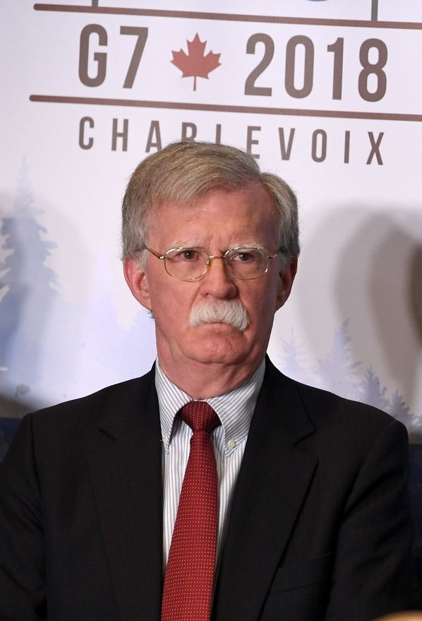 Trump's National Security Adviser John Bolton once was an advocate of regime change.
