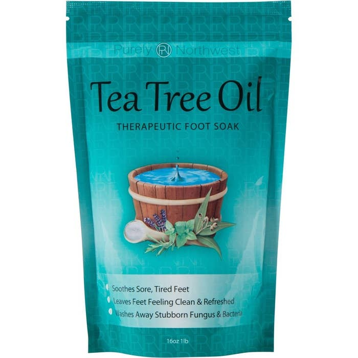 """Promising review: """"These Epsom salts have literally changed my life! I love a good foot bath and I love essential oils, so naturally I was intrigued. My toes tend to be on the sweaty side and because of that they can smell sometimes. I try to use this stuff once or twice a week and it helps SO much. Very relaxing too. I will absolutely be buying this product again and again."""" —Amazon CustomerGet it from Amazon for $13.16."""