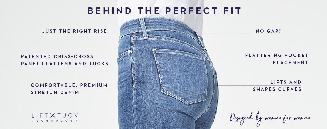 Womens casual blue slim skinny Plus Size Rugged Denim Jeans cotton Size UK 12-20