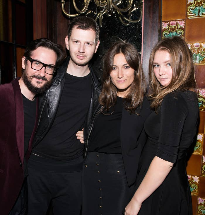 Anna Delvey (right) attends an event at the Jane Hotel on Sept. 9, 2014, in New York.