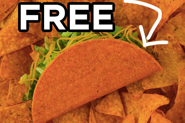 Here's How You Can Get Free Taco Bell Tomorrow, June 13th
