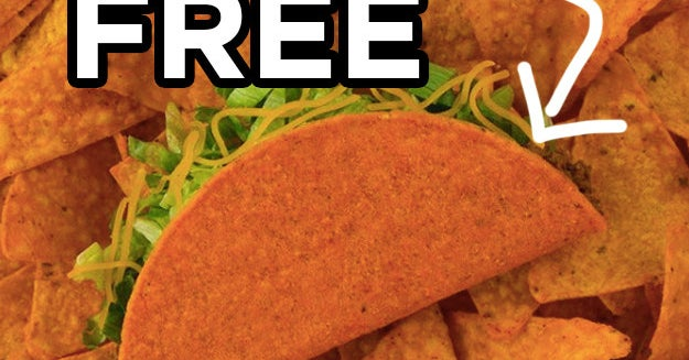 Here's How You Can Get Free Taco Bell Tomorrow, June 13th thumbnail