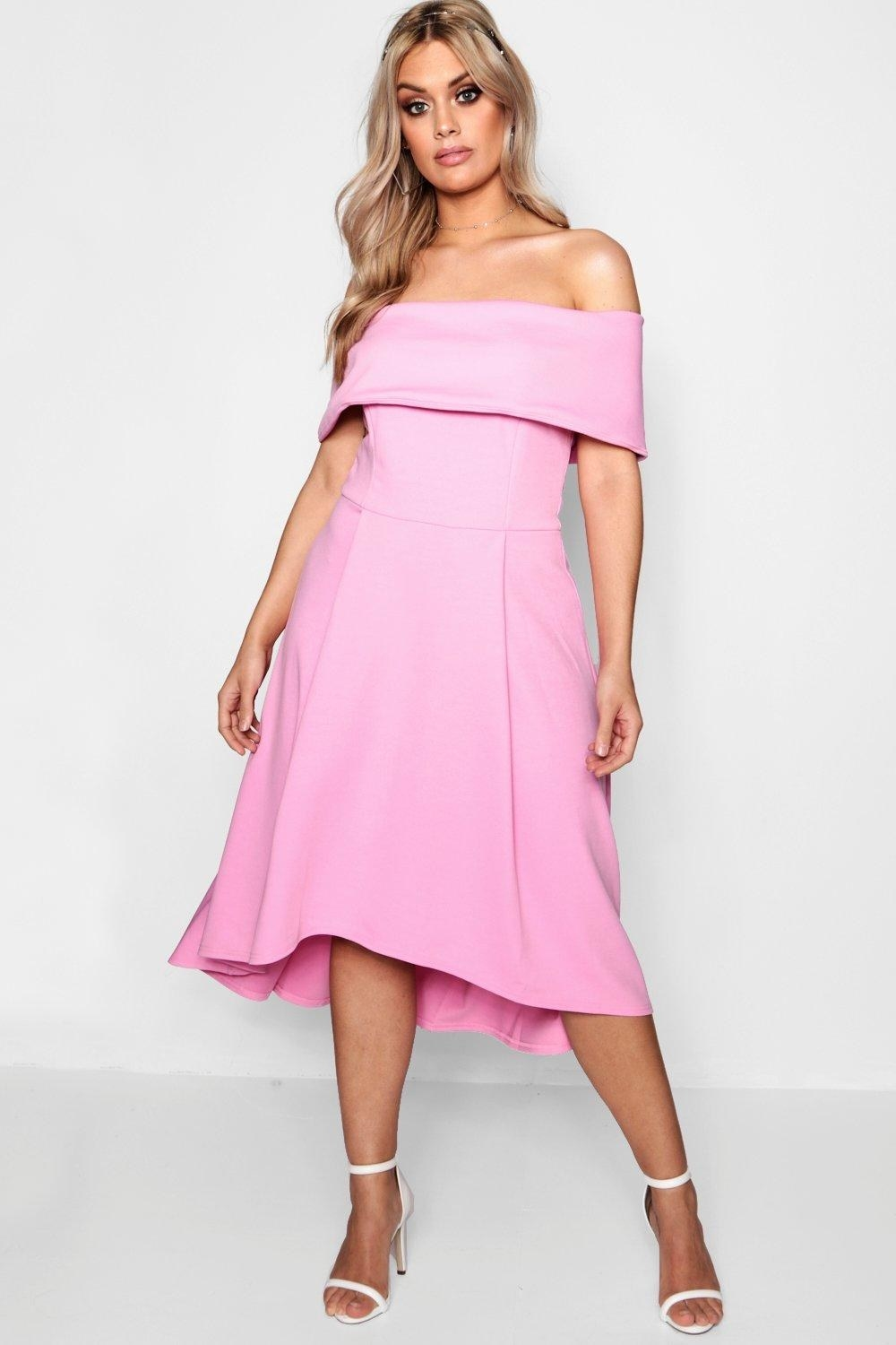 Get it from Boohoo for $40 (available in sizes 12-24 and in eight colors).