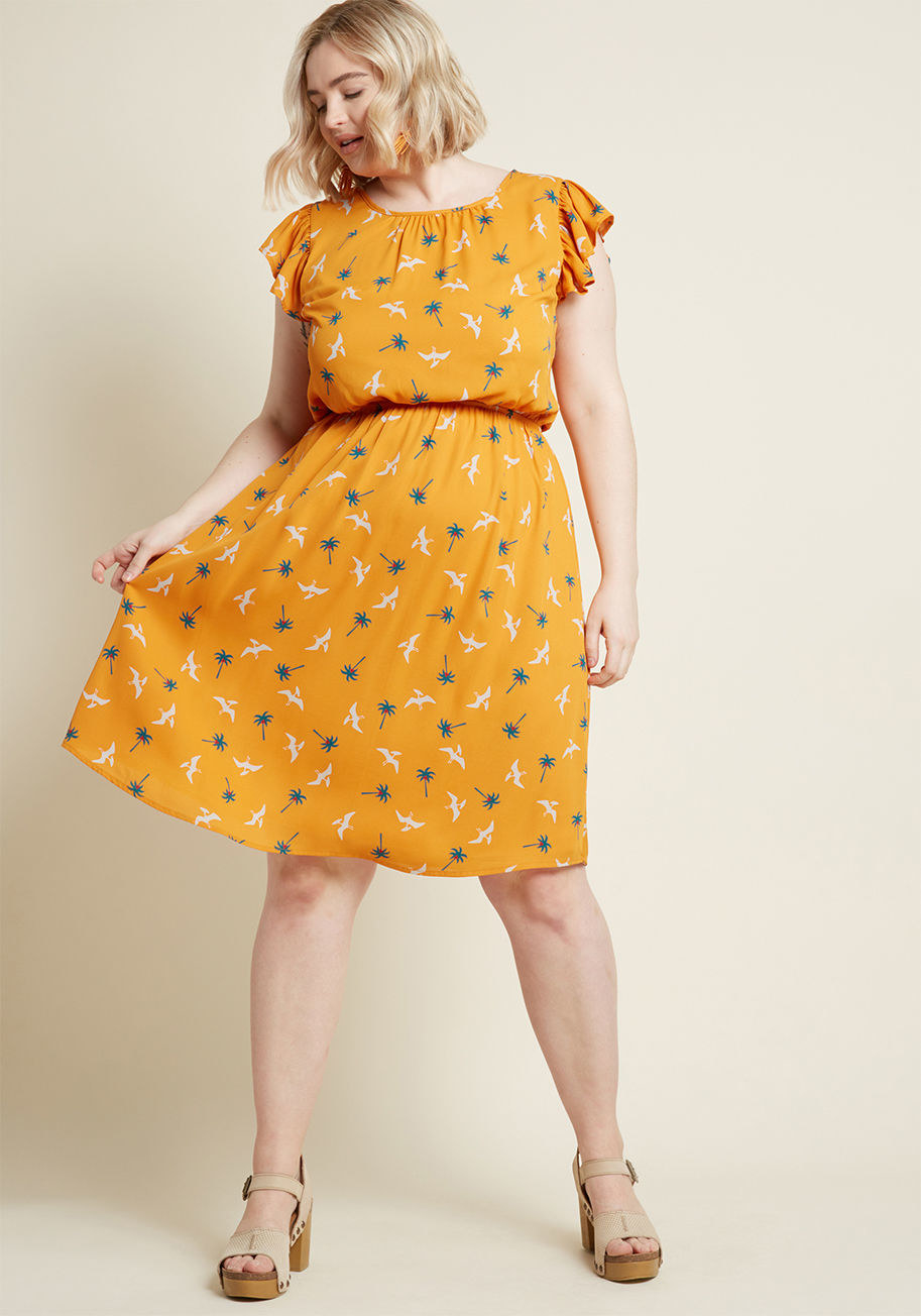 Get it from ModCloth for $44.99 (originally $59; available in sizes S-4X and in two colors).