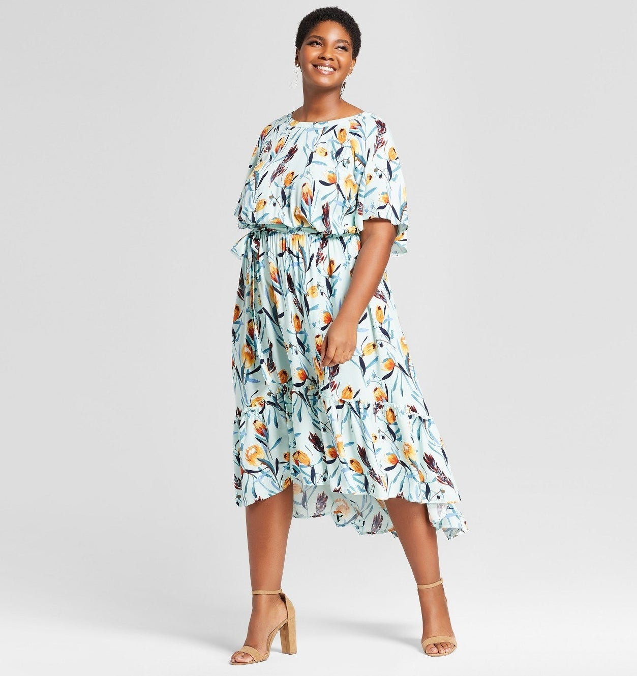 """Promising review: """"The compliments didn't stop! This dress is a great material, sturdy but breathable. I wore it to a graduation and it was the perfect number! It will be a definite staple this summer."""" —VanessaGet it from Target for $34.99 (available in sizes 0X-4X)."""