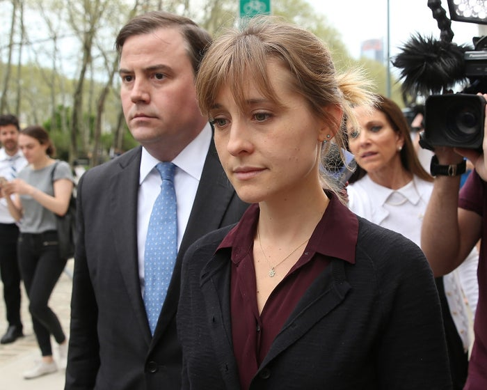 Mack after leaving a bail hearing on May 4.