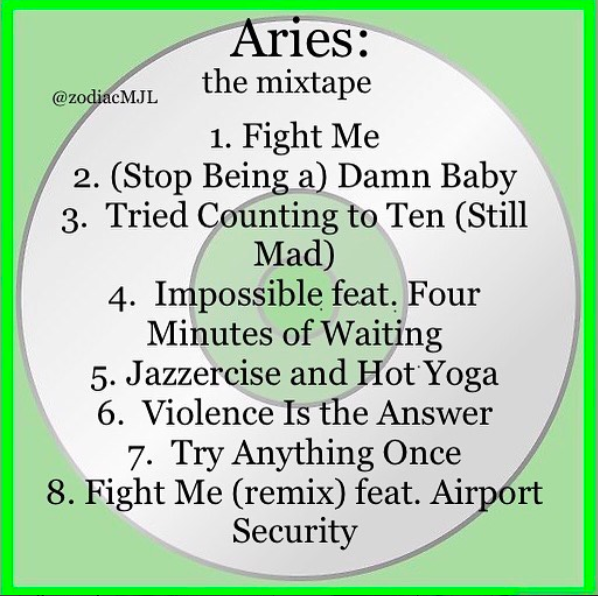 horoscope aries meme