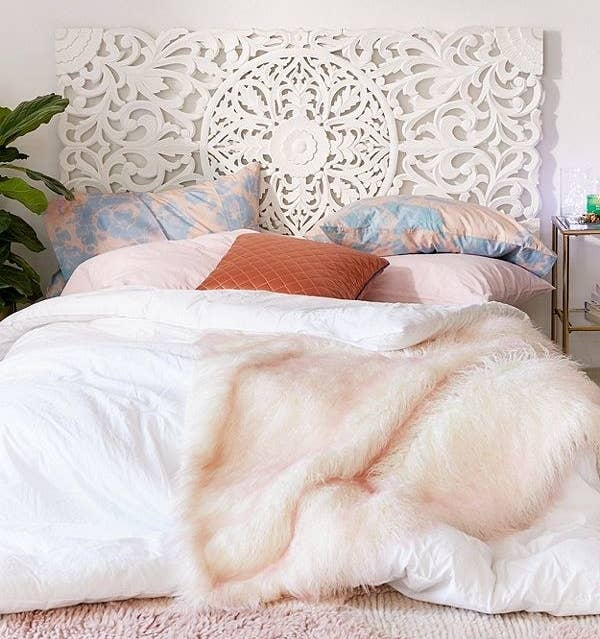 Get this headboard here.