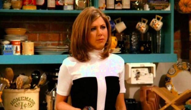 Ross og Rachel dating i museet
