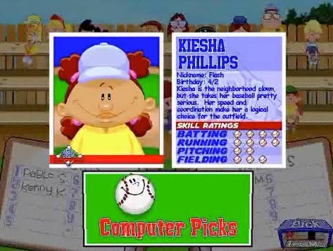 play a game of backyard baseball and we ll tell you if pablo