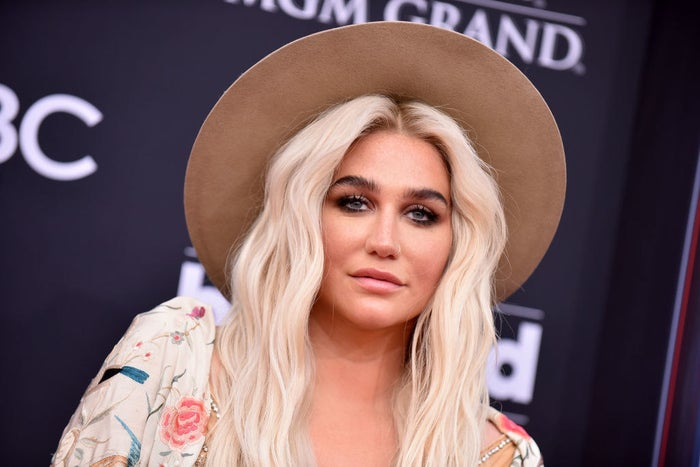 Kesha attends the 2018 Billboard Music Awards.
