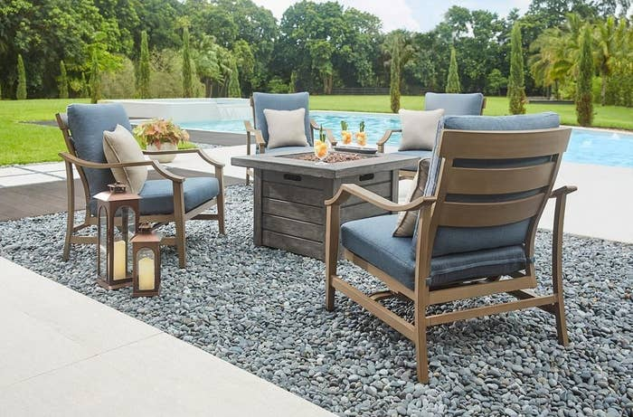 The Home Depot Features Tough Af Choices For Nearly Any Patio Furniture Your Sun Loving Heart Could Desire With Exclusive Fabric Options That Repel Water