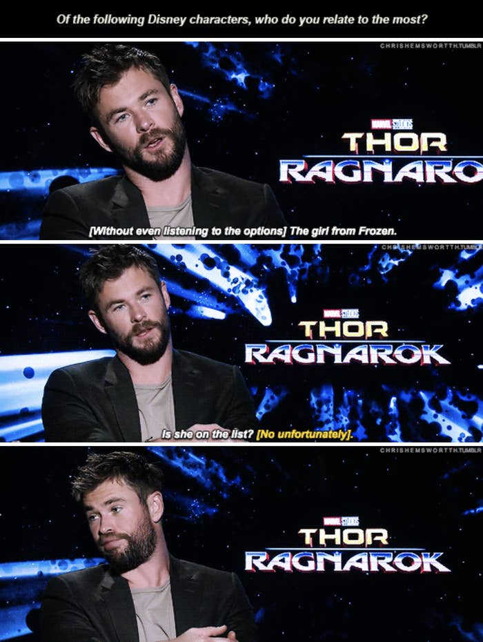 23 Tumblr Posts That Prove Chris Hemsworth Is Actually Funny As Hell
