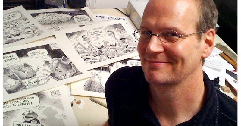 A Longtime Newspaper Cartoonist Was Fired After Editors Spiked His Cartoons Critical Of Trump