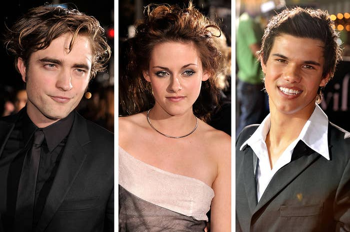 Here's the cast at the 2008 LA premiere. Feel old yet?
