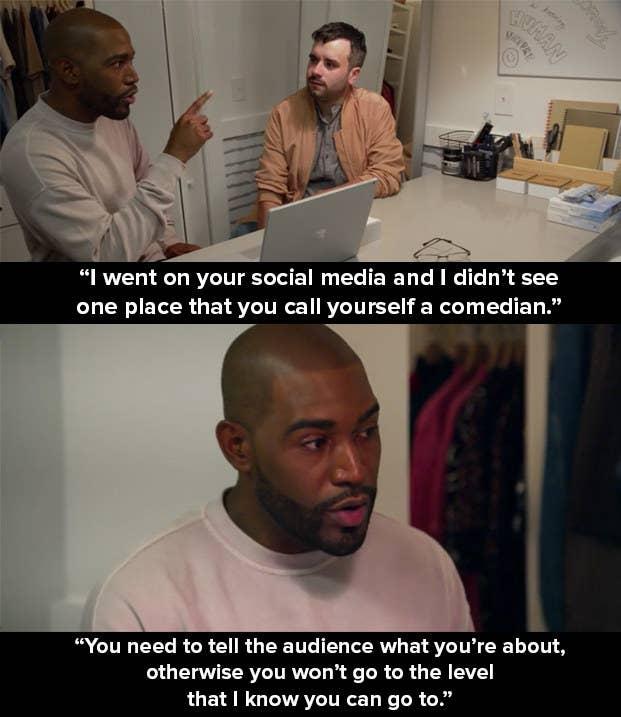 From Season 1, Episode 7 of Queer Eye.