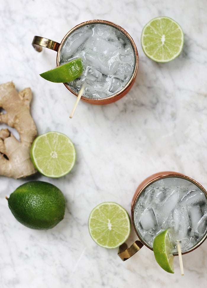Stir together non-alcoholic ginger beer, lime juice, and club soda to get all the flavor without the hangover. Get the recipe here.