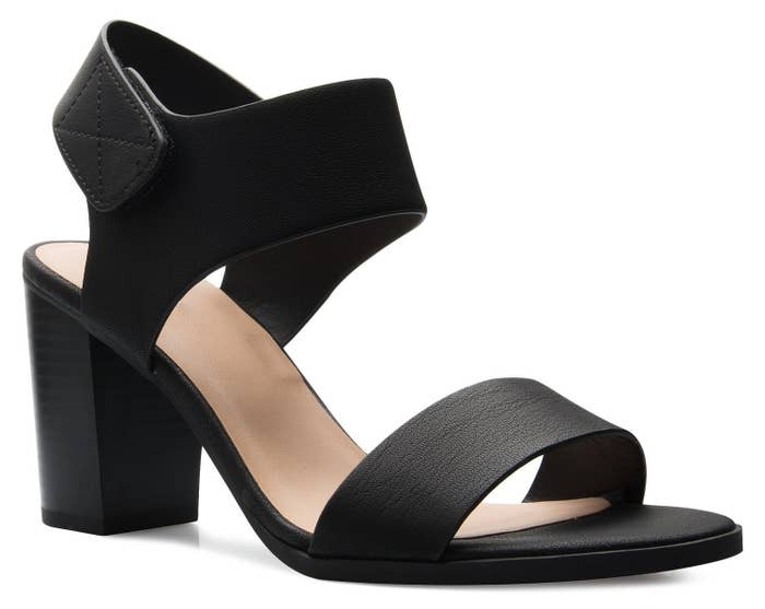 a514afe3312 26 Comfy Pairs Of Heeled Sandals You Can Walk In All Day