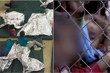 The Government Released A Video Showing Children Held In Cages At The Border