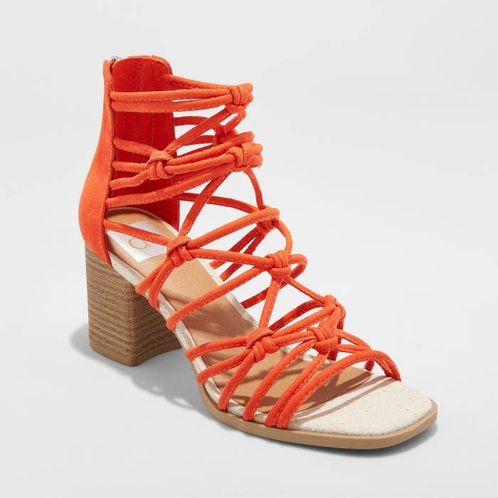 03c2b5db2c3b 2. Knotted sandals with a 2.75-inch walkable heel for perfect 85-degree  days.