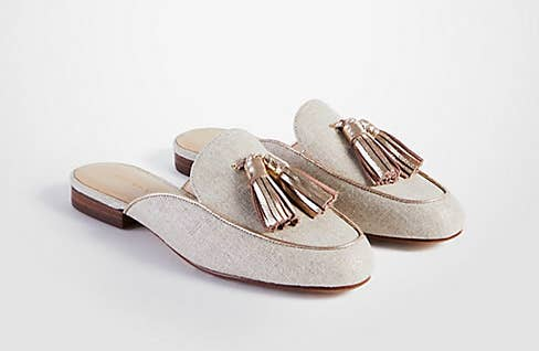 577f487b34255 35. And an insanely elegant pair of tassel mules for days when you deserve  to strut your stuff like the socialite you know you really are.