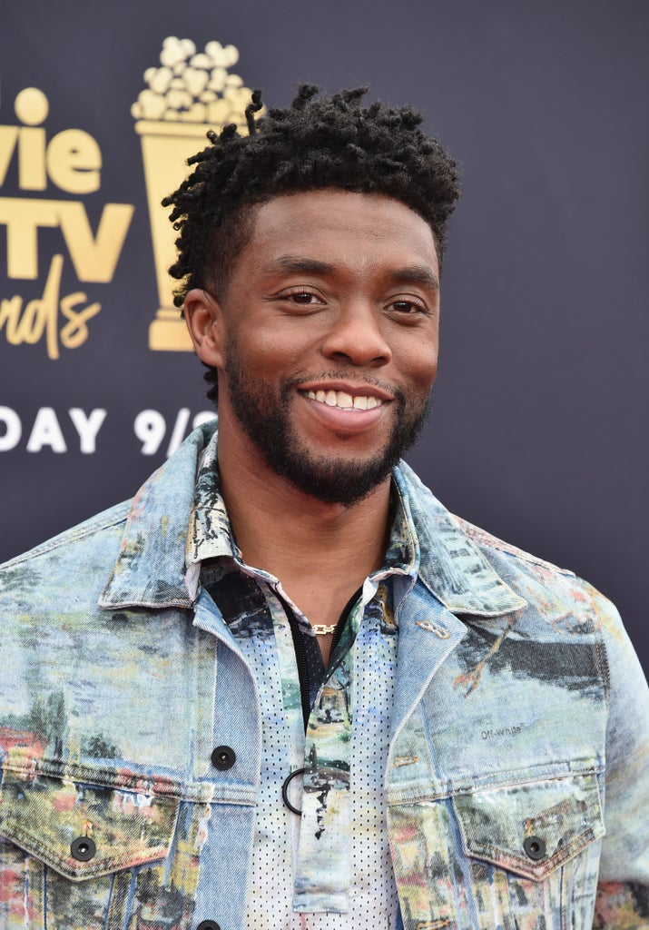 You know, he plays T'Challa...the Black Panther himself.