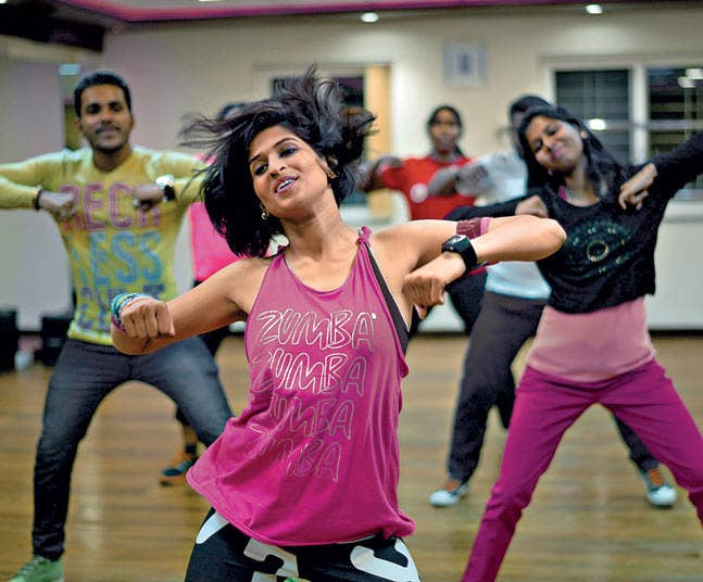 Exercise doesn't have to be boring. Add a little spice of fun to your workout regime with dance aerobics, Zumba, Bollywood dancing or Belly dancing, etc. a hoard of options are available for all the danceholics.