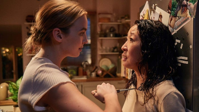 """Watch it on: BBC America (US), BBC One (later this year)What it's about: Created by Phoebe-Waller Bridge, this dark drama follows Eve (Sandra Oh), an MI5 operative who becomes obsessed with the person she is supposed to track, Villanelle (Jodie Comer). Despite being a BBC show, it is yet to air in the United Kingdom. Please rectify this immediately.""""It's a cat-and-mouse detective show unlike any we've seen before.""""– triggs09""""It is a masterpiece. Dark, funny, addictive, with pithy dialogue and rock-solid performances by Sandra Oh and Jodie Comer. I guarantee it will be a pop-culture juggernaut.""""– kristenccarter""""Phenomenally captivating characters, stunning sets and locations, and a story that had my boyfriend and me on the edge of our seats, desperate for the next episode.""""– twc46dv"""