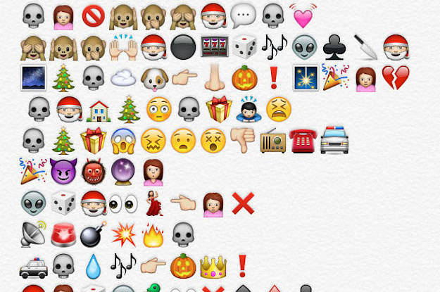the nightmare before christmas retold by emojis