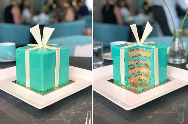 914e54b705a3 You Can Have Breakfast At Tiffany s And Eat A Blue Box Cake