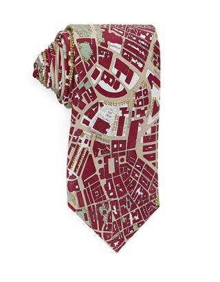 A City Map Tie Its Gonna Help Him Still Enjoy Some Street Wear Even Though His New Office Dress Code Is Somewhat Stuffy