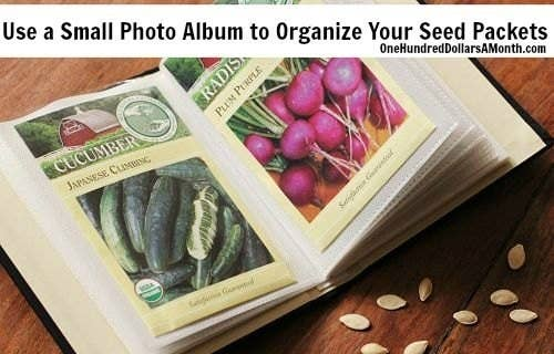 If you grow from seeds and not seedlings, that is. From One Hundred Dollars A Month. Get a small album on Amazon for $10.99.