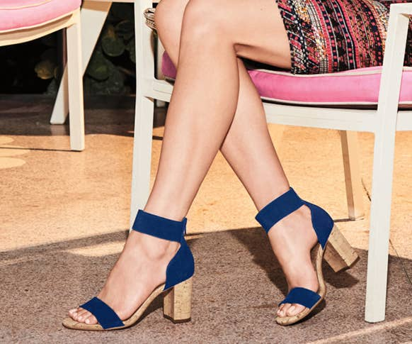 b4639f3b40c 26 Comfy Pairs Of Heeled Sandals You Can Walk In All Day