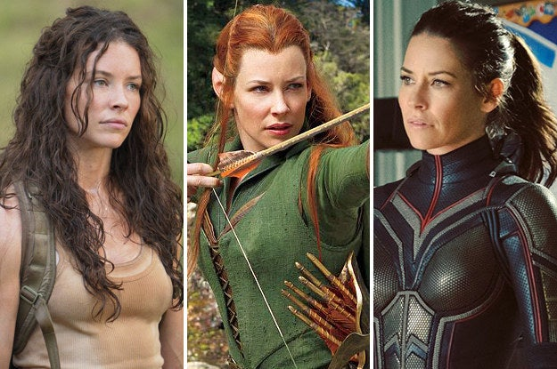 Most people will know Lilly best for her roles as Kate in Lost, Tauriel in The Hobbit films, and most recently as Hope van Dyne/Wasp in Ant-Man and the upcoming sequel.