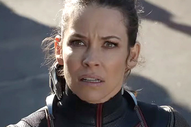 """Someone Tried To """"Scout"""" Evangeline Lilly And She Was Like, """"LOL, Huh?"""""""