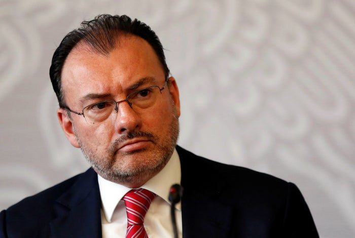 Mexico's Foreign Affairs Minister Luis Videgaray