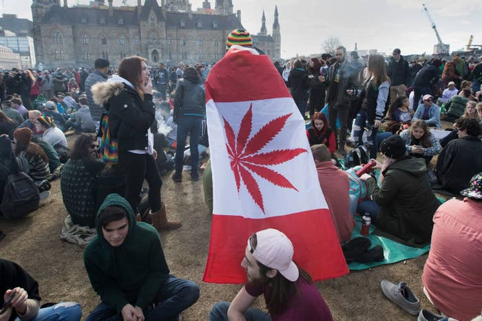 Marijuana Will Be Legal In Canada On October 17