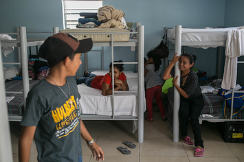 Migrants Hesitate At Border, Fearing For Their Children