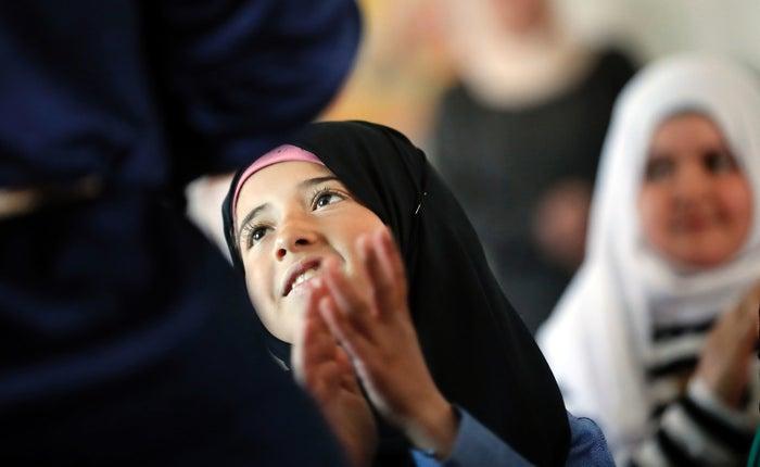シリアから難民となって隣国のヨルダンに逃れた少女