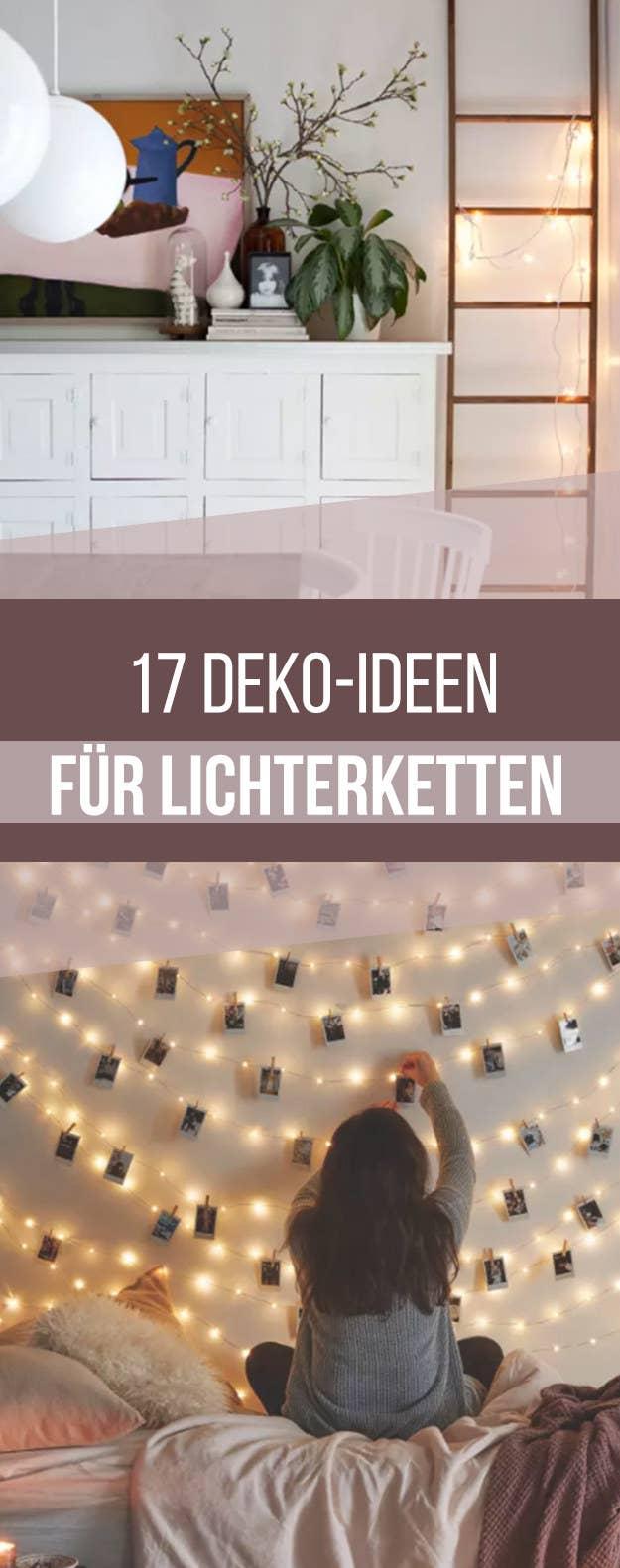 17 Möglichkeiten, wie du jede Ecke deiner Wohnung mit Lichterketten ...