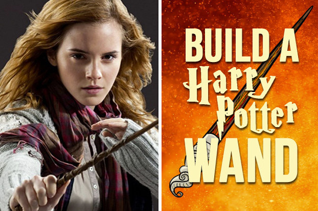 Create Your Own Harry Potter Wand And We'll Reveal A Deep