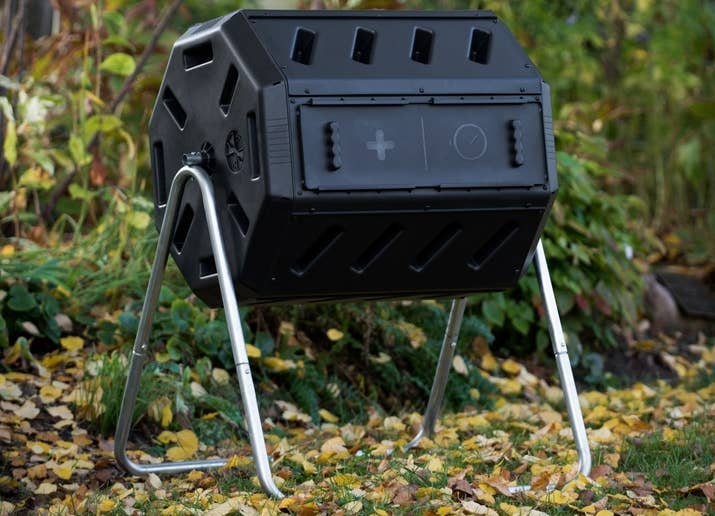 Those are things you'll probably want to ask around for at your local garden store at first; but eventually you might want to set up your own compost tumbler. This one's $79 on Amazon. Read more about soil on Better Homes and Gardens.