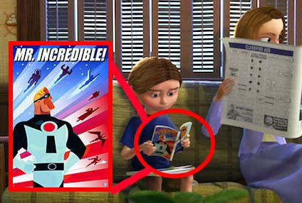 Image result for pixar easter eggs