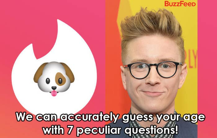 We Can Accurately Guess Your Age With 7 Unexpected Questions