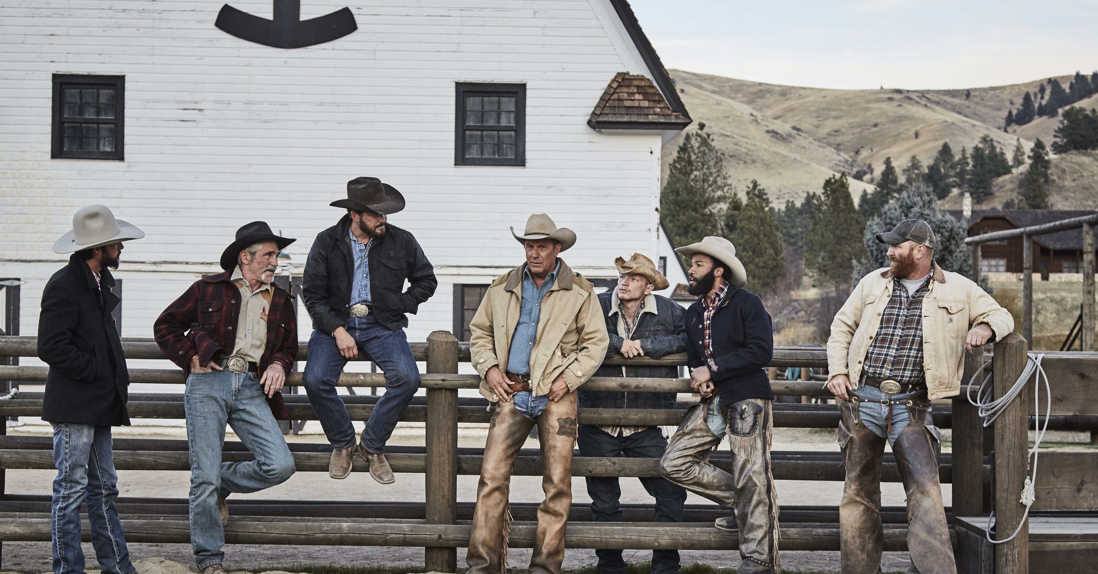 """d45803f0313 Kevin Costner s New Show Is More Than """"Dallas"""" With Horses"""
