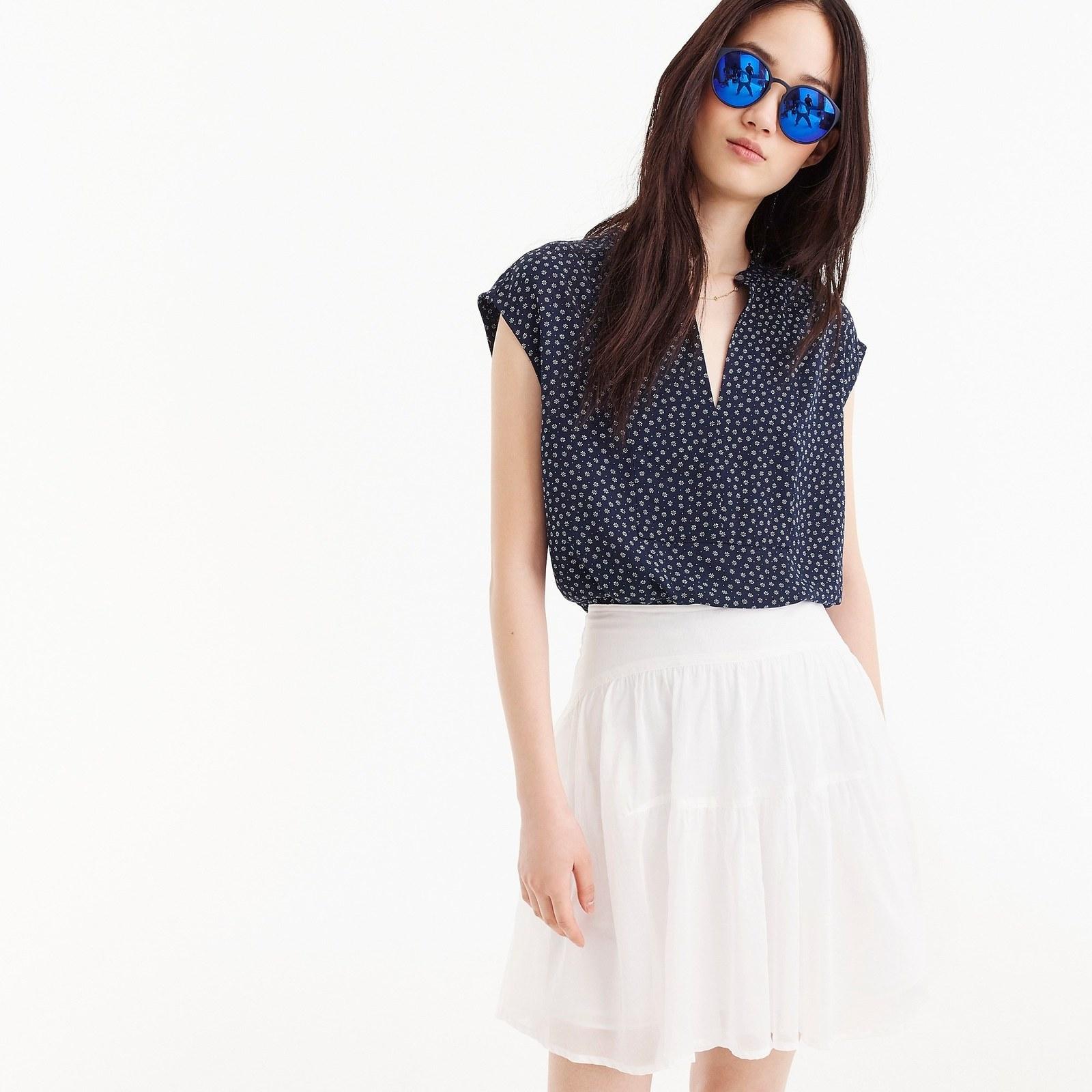 U.s Girl's Size 2t Denim Look Summer Top. Polo Assn